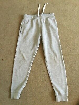 Boys H&M Grey Light Weight Jogger Bottoms tracksuit age 11. - 12 years