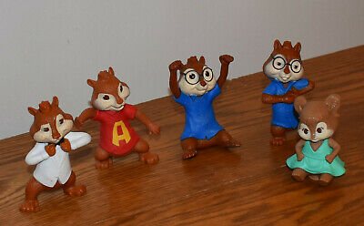 Lot If 4 Alvin And The Chipmunks Chipwrecked Mcdonald S Toys New Sealed 8 50 Picclick