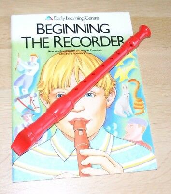Recorder and Tuition book - new