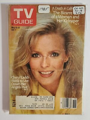 TV Guide 5/11-17 1985 CHERYL LADD COVER (William Pera Collection) VOL. 33/#19