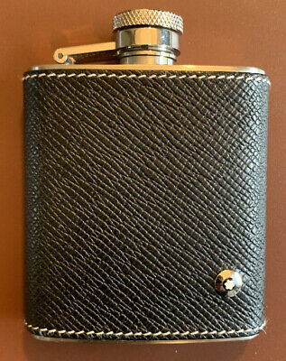 Genuine Leather Montblanc Flask - collectors Item.