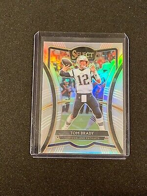 2019 Select TOM BRADY SILVER PREMIER LEVEL PRIZM NEW ENGLAND PATRIOTS YC