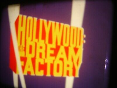 16mm film  Hollywood Dream factory  MGM studio  documentary pt1 and pt2