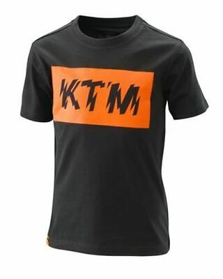 Ktm Kids Radical Logo Tee Black 2020