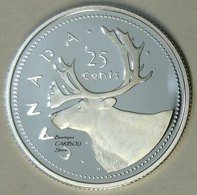 2002 Canada Silver Proof 25 Cents
