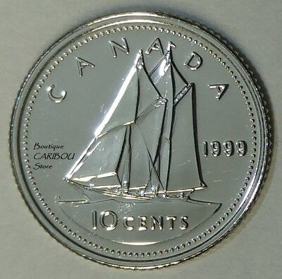 1999 Canada Proof-Like 10 Cents
