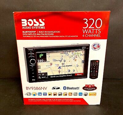 BOSS Audio Systems BV9386NV Navigation - Double Din GPS, Bluetooth Audio