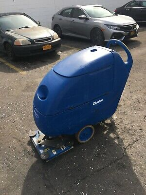 Clarke, Focus II L20 Boost Walk Behind Auto Scrubber, W Batteries And Squeegee