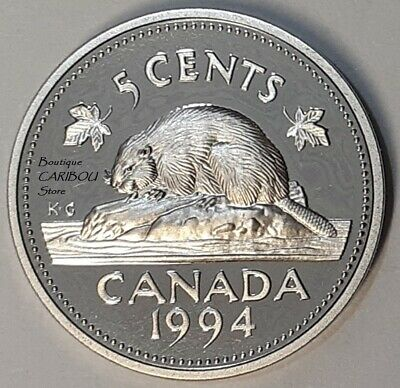 1994 Canada Proof 5 Cents