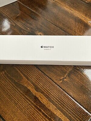 AppleWatch Series 3 (GPS) 42mm Space Gray Aluminum Case with Rhino case