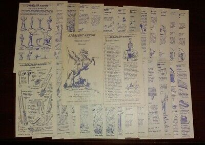 "Vintage 1949 Straight Arrow ""Injun-uity"" Manual Not Complete"