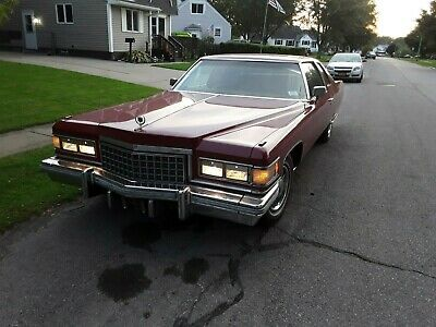 1976 Cadillac DeVille Chrome 1976 CADILLAC COUPE DE VILLE - REDUCED - 05/24/20 - ONLY REAL OFFERS -