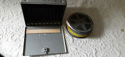 "16Mm Film Metal Storage Case With 4- 400"" Films"