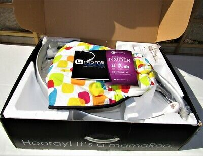 Multi-Color Plush 4moms, mamaRoo, Baby Swing, NEW IN OPEN RETAIL BOX