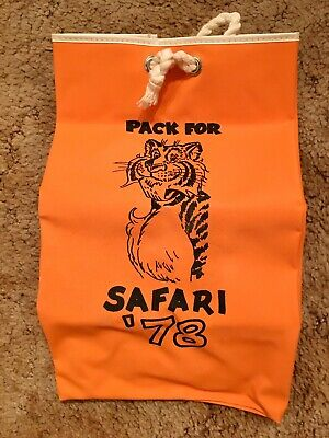 Exxon Safari '78 Tote Bag 1978