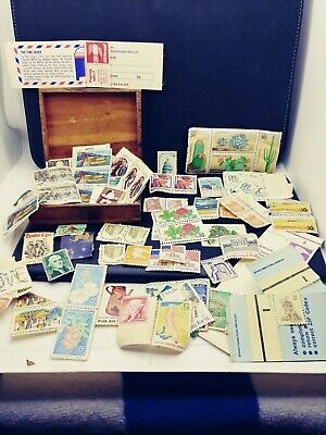 Mixed Lot of Vintage United States Postage Stamps ~ Unused sold AS IS