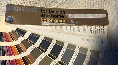 Pantone For Fashion And Home Color Guide Fanbook Chromatic Edition