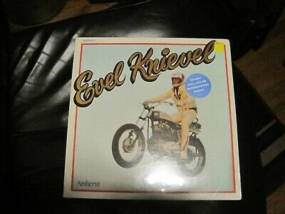 FactorySealed never open Evel Knievel LP 33 vinyl record 1974  /Amherst Records