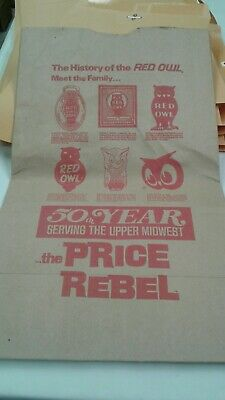 History Of Red Owl Shopping Bag