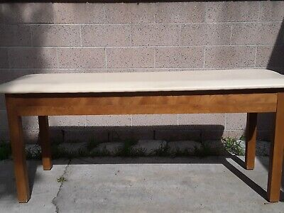 Medical Exam Table/Physical Therapy, Used...made Of Plywood &  Polyurethane