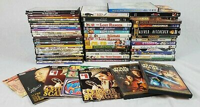 Lot Of 64 Classic Vintage Retro Assorted DVDs  Movies & T.V. Shows Great Titles