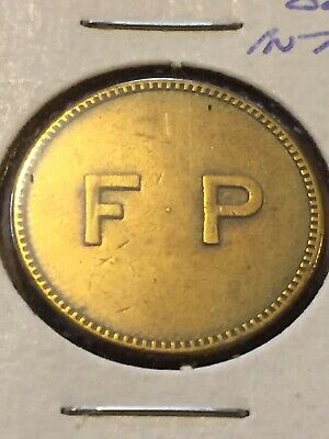 Token Coin, FP Good For 25 Cents In Trade Metal Old Coin Vintage T3