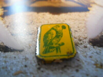 Vintage tobacco tag as seen with the PIC OF A PARROTT