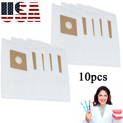 10×Universal Filter Dust bags Replacement Dental Dust Collector Cotton Dentist