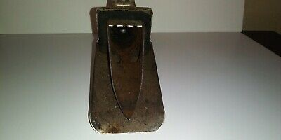 VINTAGE  METAL OIL CAN opener / SPOUT FUNNEL