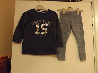 Next matching outfit / set jumper and leggings aged 3 years
