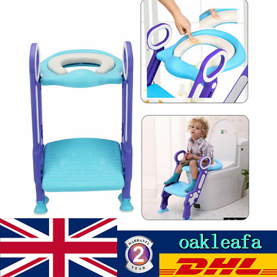 Baby Toilet Trainer Ladder Toilet Seat Potty Training Safe Trainer Toilet Chair