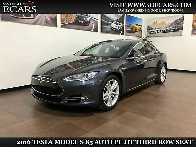 2016 Tesla Model S 85 Auto Pilot Third Row Seat 2016 Gray 85 Auto Pilot Third Row Seat!