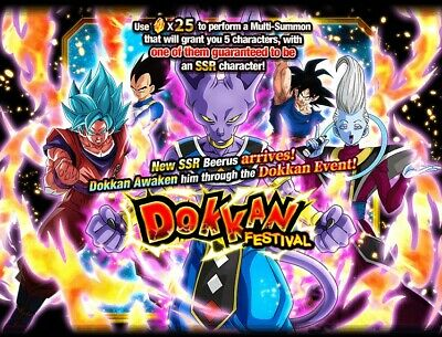 2000+ Stones Account Dokkan Battle Z Android Global