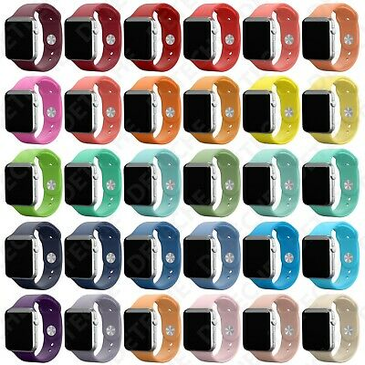 Silicone Band Strap for Apple Watch Series 1/2/3/4/5 iWatch Sports 38/42/40/44mm