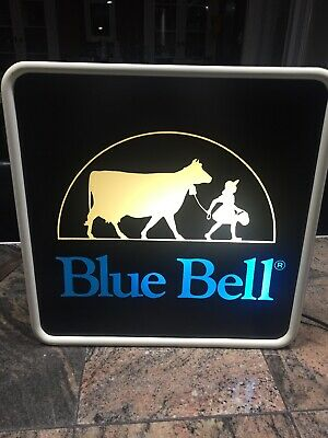 Blue Bell Ice Cream Lighted Sign
