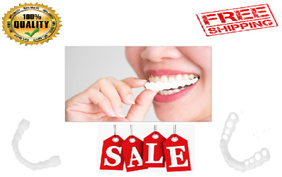 Magic Teeth Brace Temporary Smile Comfort Fit Cosmetic Denture Teeth Dent Veneer