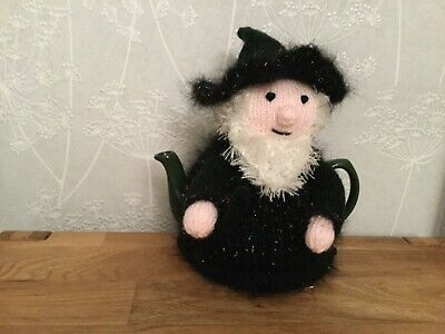Hand Knitted Wizard Teapot Cosy / cozy  Great Gift