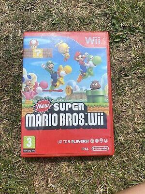 New Super Mario Bros for Nintendo Wii 2009 US Version