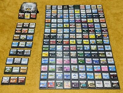 Nintendo DS Game Cartridges + Bundles Pick your Own! **Fast Postage**