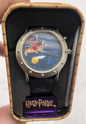Harry Potter Brand New Quidditch Watch 2001 Collectable Tin Warner Bros.