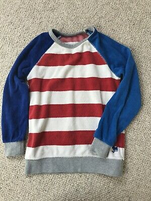 boys mini boden Toweling Jumper 7-8