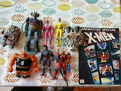 Vintange Toy 90s And 00s  Xmen Biker Mice Mighty Max Bundle