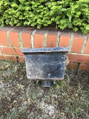 9 Cast Iron Hopper Heads, Various Sizes, Sold Individually or as Job Lot.