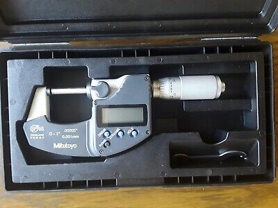 Mitutoyo 293-344 Digital Micrometer 0-1"