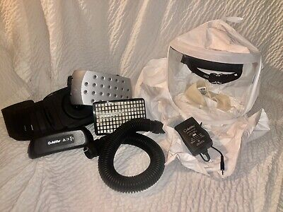 3M PAPR Adflo Blower with Belt, Versaflo Hood, Charger And Battery!!