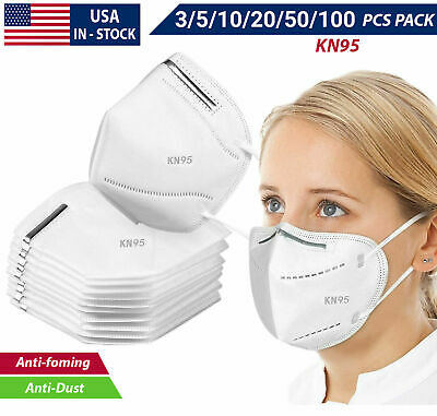 3-100PCS K-N95 Face Mask Cover Disposable Masks Respirator GB2626-2006 KN95