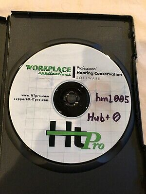 HT Pro Professional Hearing Conservation software