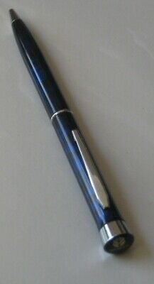 New Holland Pen. Blue marbled look with blue logo