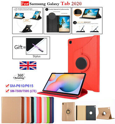 For Samsung Galaxy Tab A 10.1 T510 & T580 360° Rotating Leather Stand Flip Case