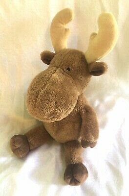 """Kohls Cares Moose If You Give A Moose A Muffin Plush 18"""" stuffed toy animal"""
